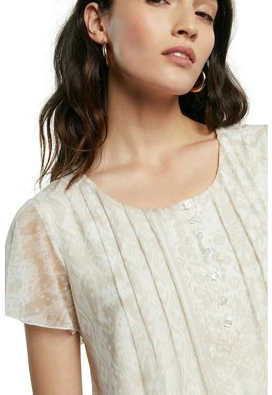 DESIGUAL Bluza vaporoasa cu model abstract Femei
