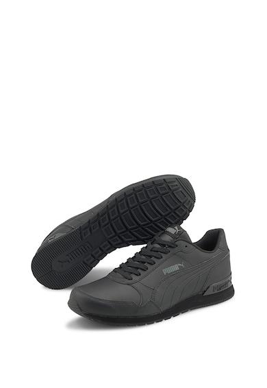 Puma Pantofi de piele si piele ecologica pentru alergare ST Runner v2 Barbati