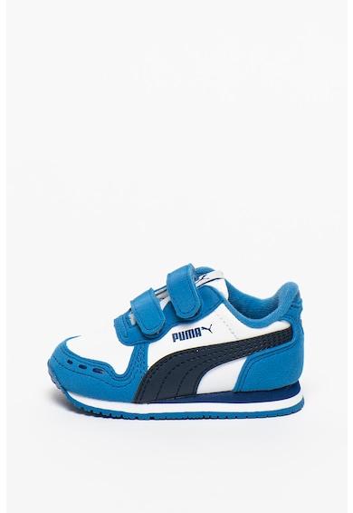 Puma Pantofi cu inchidere velcro pentru alergare Cabana Racer Baieti