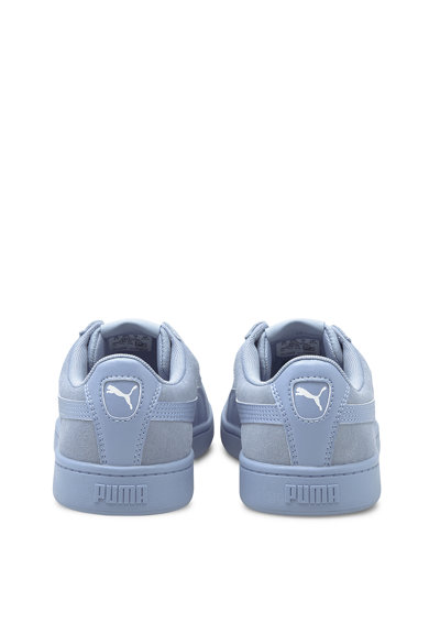 Puma Pantofi sport de piele intoarsa cu garnituri de piele ecologica Vikky v2 Femei