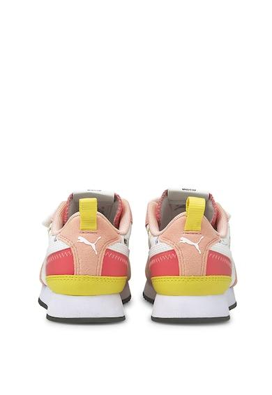 Puma Pantofi sport cu garnituri de piele intoarsa R78 V Fete