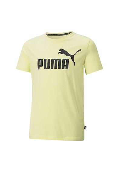 Puma Tricou din bumbac cu logo Essentials Baieti