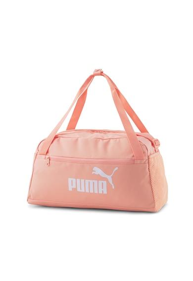 Puma Geanta duffle cu imprimeu logo Phase Femei
