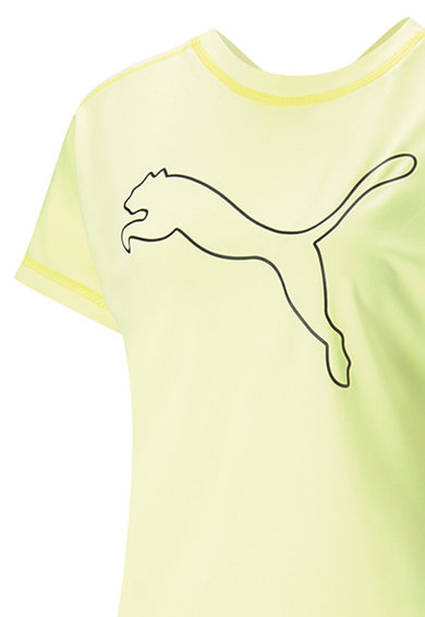 Puma Tricou cu imprimeu logo si tehnologie DryCELL, pentru antrenament Femei