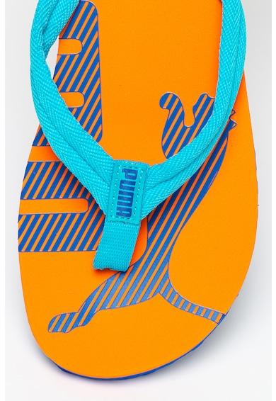 Puma Papuci flip-flop cu bareta texturata Barbati