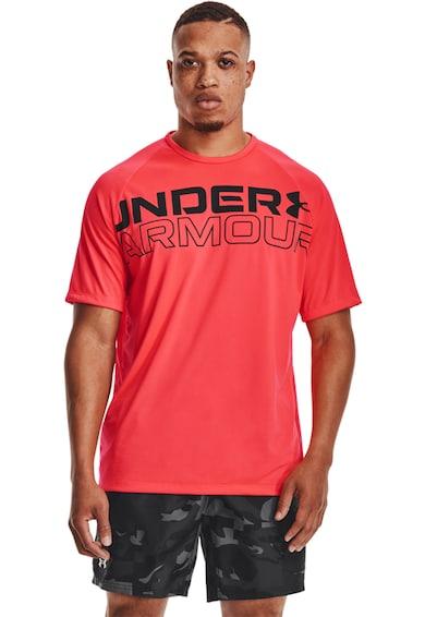 Under Armour Tricou cu logo, pentru fitness Tech 2.0 Barbati