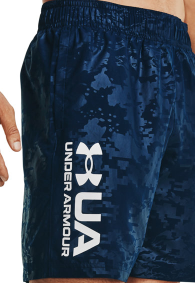 Under Armour Pantaloni scurti lejeri cu imprimeu logo pentru fitness Barbati