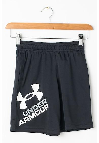 Under Armour Pantaloni scurti lejeri cu imprimeu logo pentru fitness Prototype 2.0 Baieti