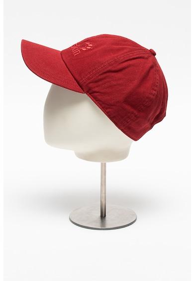 Jack Wolfskin Унисекс шапка от органичен памук с лого Жени