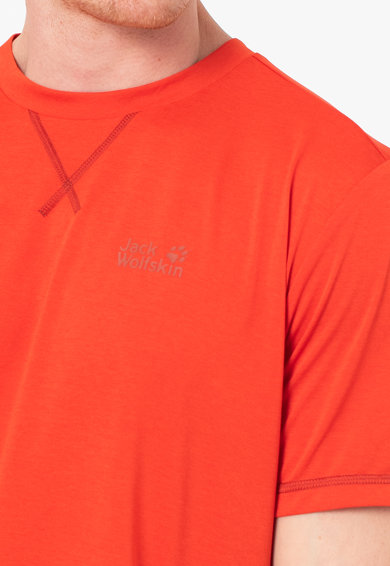 Jack Wolfskin Тениска Crosstrail с овално деколте Мъже