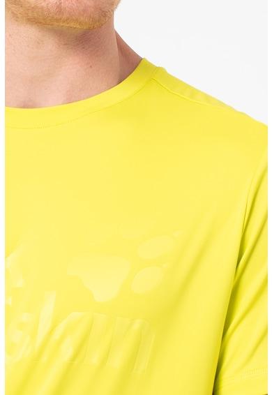 Jack Wolfskin Фитнес тениска Sierra с гумирано лого Мъже