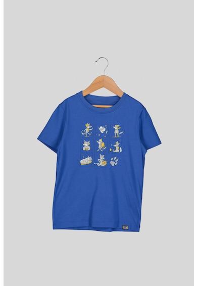 Jack Wolfskin Тениска с органичен памук с щампа Момичета