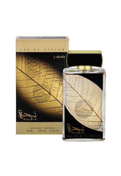 Lattafa Apa de Parfum  Najdia In Gold, Unisex, 100 ml Barbati