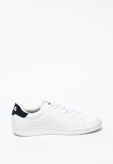 Fila Pantofi sport de piele ecologica cu insertii de piele intoarsa Crosscourt Barbati