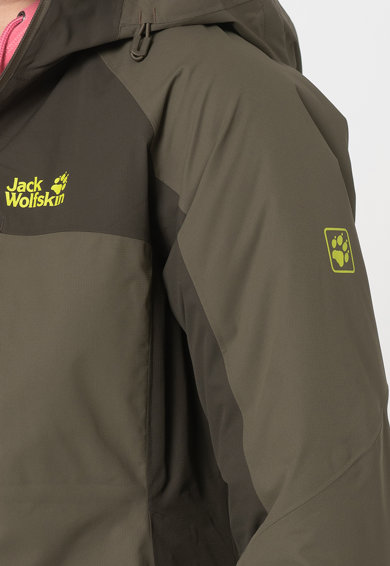 Jack Wolfskin Непромокаемо ски яке Eagle Peak с качулка Жени