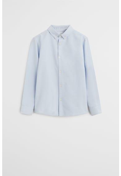 Mango Памучна риза Oxford с копчета на яката Момчета