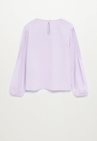 Mango Блуза Matilda от органичен памук Момичета