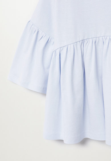 Mango Блуза Bibi от органичен памук Момичета