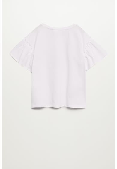 Mango Тениска Nice с щампа и апликации Момичета
