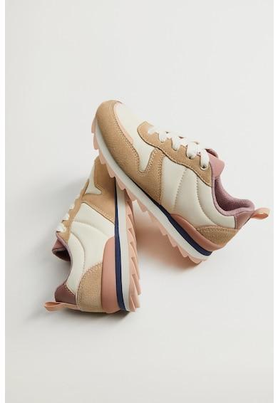 Mango Спортни обувки Mar с велур Момичета