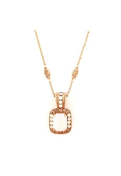 Roxannes - Mariana Jewellery Colier placat cu aur rose de 24k si decorat cu cristale Femei