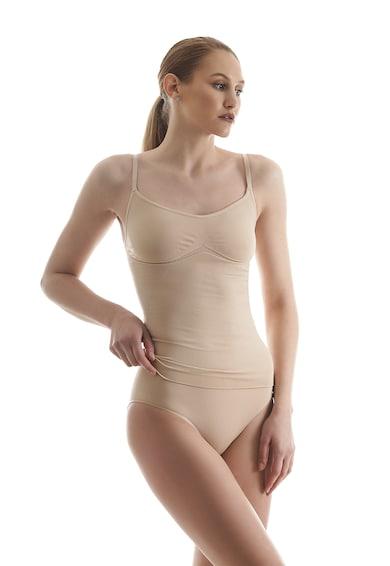 Laura Baldini Top modelator cu bretele ajustabile Femei