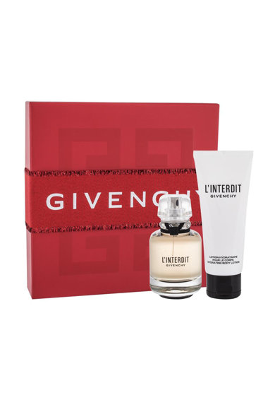 Givenchy Set  L´Interdit, Femei: Apa de Parfum, 50 ml + Lotiune de corp, 75 ml Femei