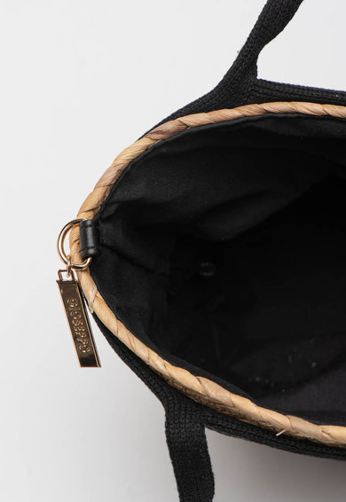 Gioseppo Geanta din paie de hartie cu bareta de umar Seif Femei