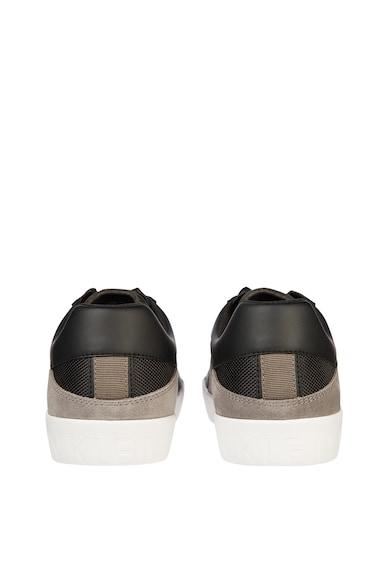 CALVIN KLEIN JEANS Pantofi sport cu garnituri de piele ecologica Barbati