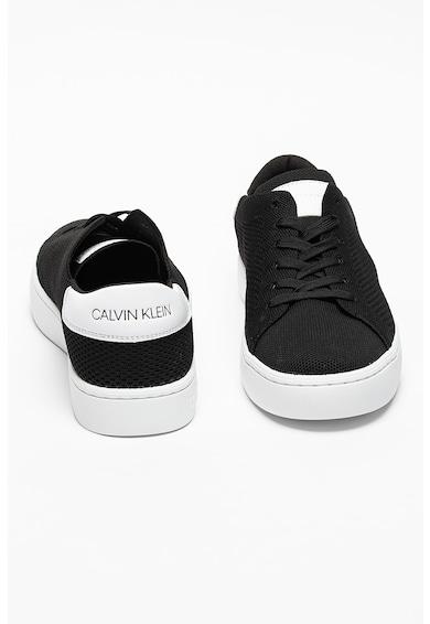 CALVIN KLEIN JEANS Pantofi sport de piele ecologica si plasa Cupsole Barbati