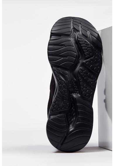 DeFacto Pantofi sport de plasa cu detalii de piele ecologica Barbati