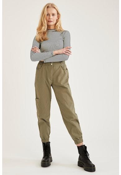 DeFacto Pantaloni jogger cargo Femei