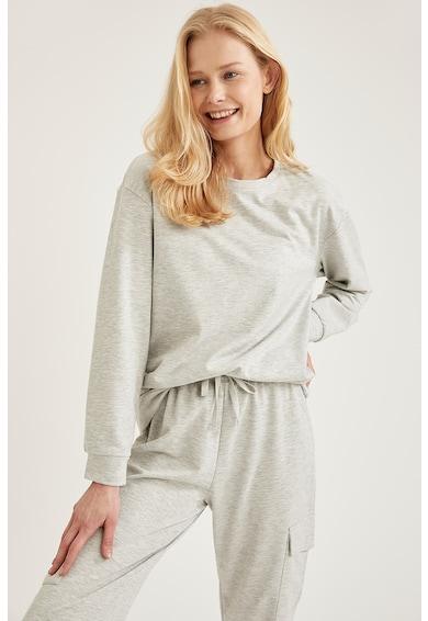 DeFacto Bluza de pijama cu maneci cazute Femei