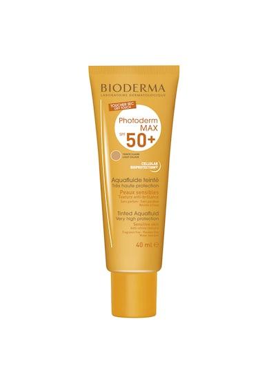 Bioderma Fluid cu protectie solara  Photoderm Max SPF 50+ nuanta deschisa, 40 ml Femei