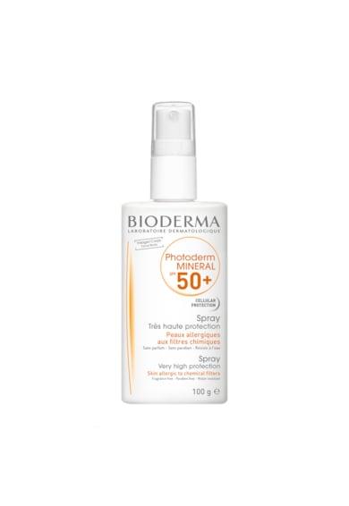 Bioderma Spray cu protectie solara  Photoderm Mineral SPF 50+ pentru ten alergic, 100 ml Femei
