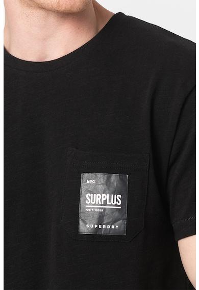 SUPERDRY Тениска Surplus с овално деколте Мъже