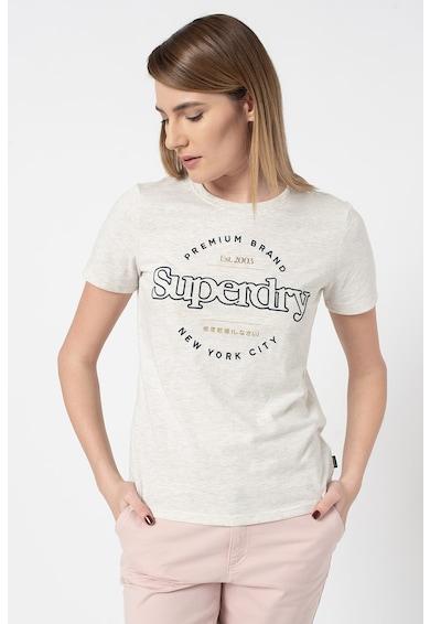 SUPERDRY Памучна тениска Established Жени