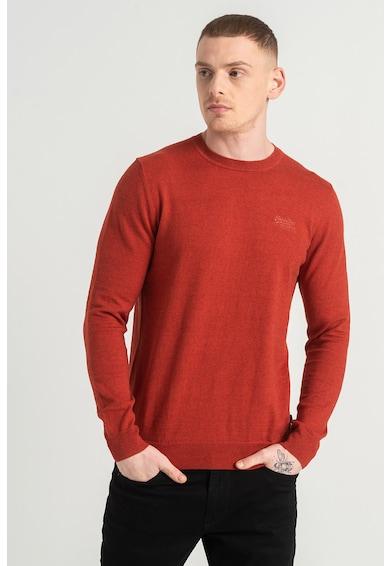 SUPERDRY Пуловер Orange Label с овално деколте Мъже