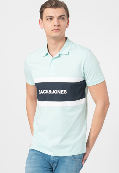 Jack&Jones Tricou polo regular fit Shake Barbati