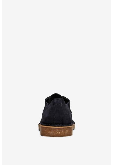 Selected Homme Велурени обувки Derby с коркови стелки Мъже