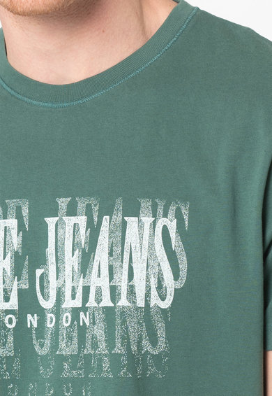 Pepe Jeans London Тениска Snow с лого Мъже
