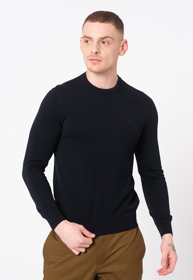 Emporio Armani Пуловер с овално деколте Мъже