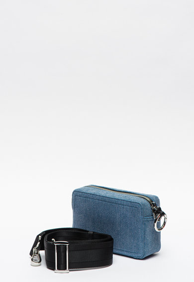Diesel Дънкова чанта Rosa с лого Жени