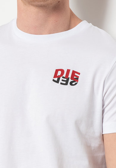 Diesel Tricou cu detaliu logo Diego Barbati