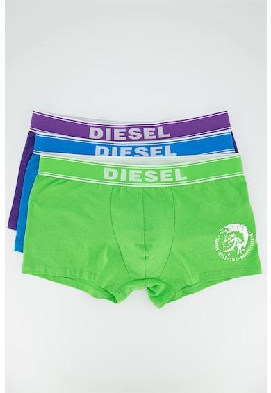 Diesel Set de boxeri cu banda logo in talie Shawn - 3 perechi Barbati