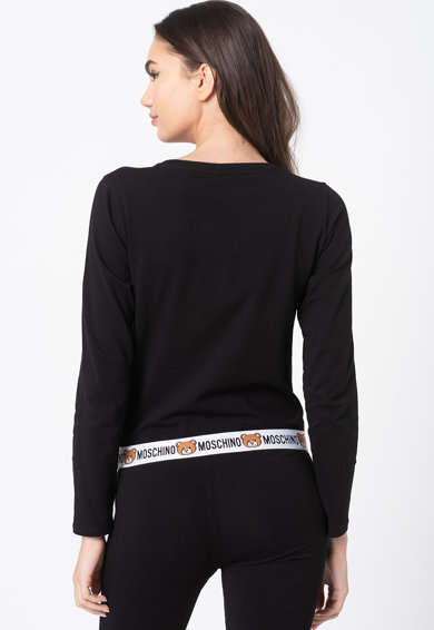 Moschino Домашна блуза с лого Жени