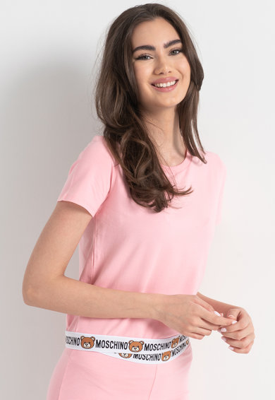 Moschino Домашна тениска с лого Жени