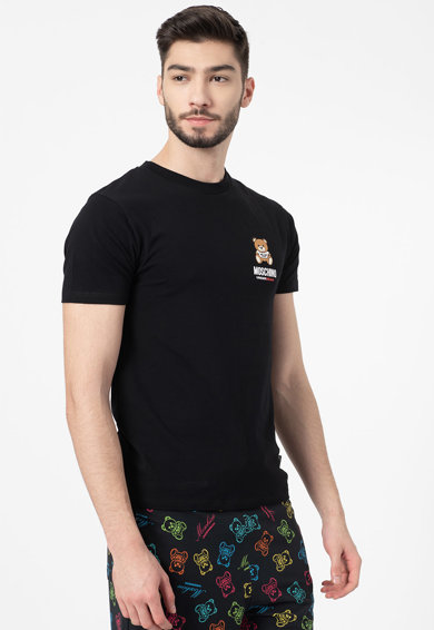 Moschino Домашна тениска с овално деколте Мъже