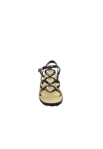 Love Moschino Sandale de piele ecologica cu barete multiple Femei