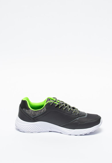 Lotto Pantofi sport din piele ecologica si plasa Tailor Barbati
